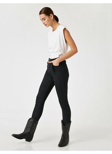 Koton Jean Pantolon Siyah
